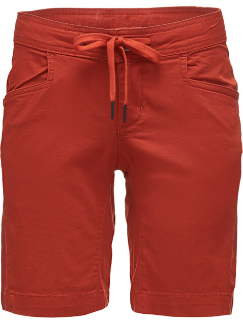 Black Diamond W's Credo Shorts Burnt Sienna